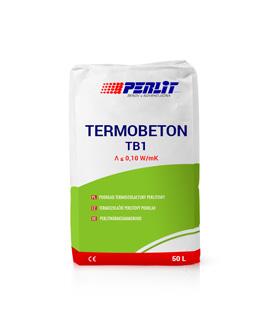 TERMOBETONAS TB1 <br>perlitinis betonas