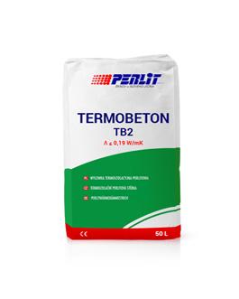 TERMOBETONAS TB2 <br>Termoizoliacinė perlito grindų danga